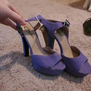 Candie's purple heels